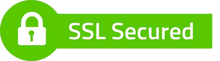 SSL Secure Logo depicted as a Green Key